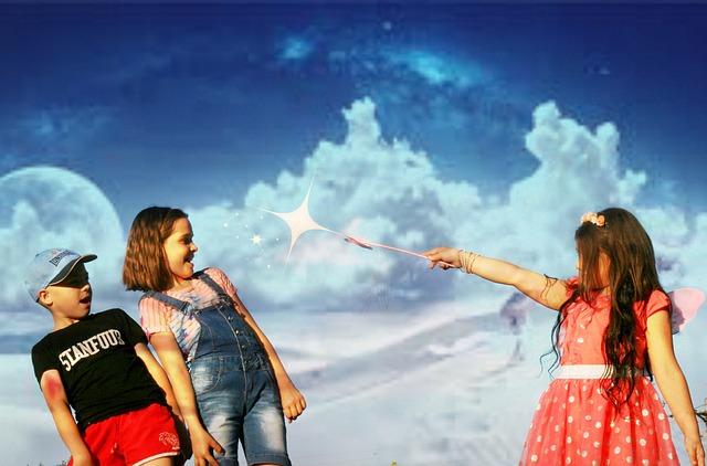 Shall we give kids a magic wand?